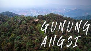 Drone: Gunung Angsi Via Ulu Bendul, Negeri Sembilan || #VLOG (MOTIVATIONAL FILM)