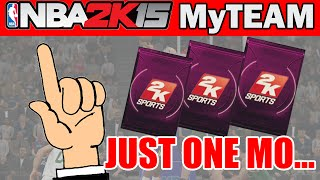 JUST ONE MO! - NBA 2K15 MyTeam Pack Opening: #TBT Onyx Pack Opening