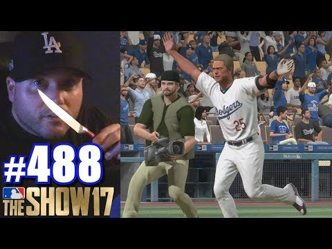 THERE'S SOMETHING OUTSIDE MY ROOM! | MLB The Show 17 | Road to the Show #488