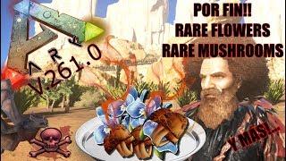 how to find rare mushrooms in ark ragnarok - Free video