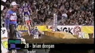 Metal Mulisha  Deegan Ghostride 1997 LA Coliseum Supercross