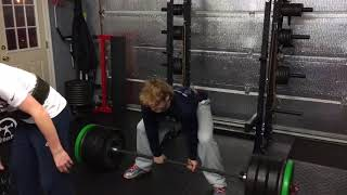 Athlete Spotlight: Freshman Wrestler/Football Player Braydon Erb Deadlifts 455lbs