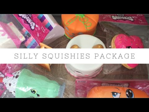 Silly Squishies Squishy Package | Toy Tiny