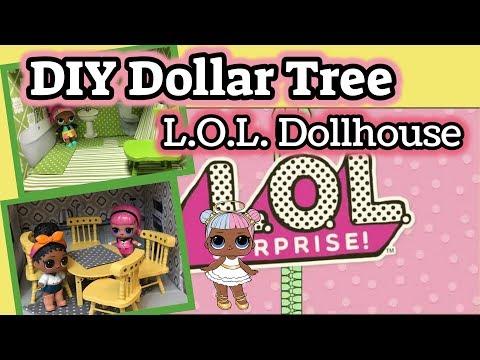 DIY Dollar Tree Wood Doll House Furniture