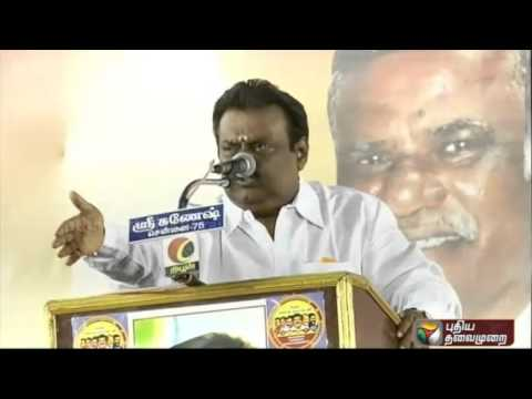 DMDK-leader-Vijayakanth-imitating-ADMK-leader-Jayalalithaa