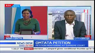 Case by Okiya Omtatah challenging the repeat presidential polls