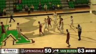 SHS Basketball   @ Van Buren