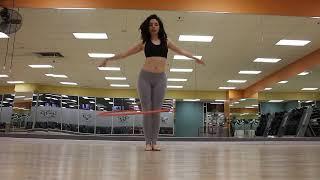 Hula Hoop Dance To Reggaeton