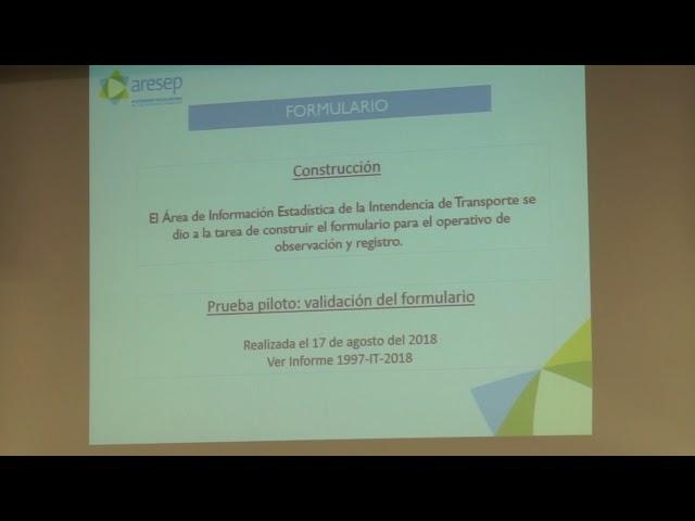 ARESEP explica propuesta para actualizar equipo de conteo pasajeros