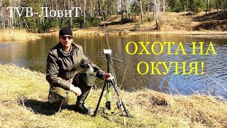 Охота на Окуня! Первая УДАЧНАЯ рыбалка на спиннинг 2018 | Уральская река кормит Рыбака!