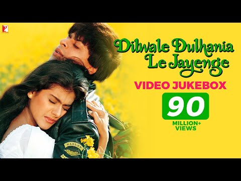Dilwale Dulhania Le Jayenge Video Jukebox   Full Song   Jatin-Lalit   Shah Rukh Khan   Kajol