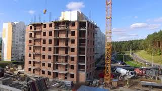 Ход строительства 35 дом