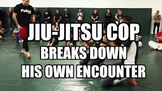 """Jiu-Jitsu Cop: """"I never take things personally, I never see red."""""""