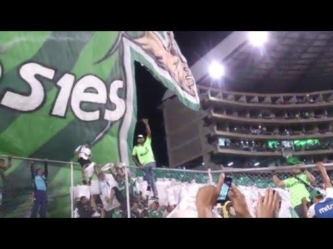 TIFO 3D Andrés Pérez   Frente Radical Verdiblanco   Deportivo Cali vs Boca Jrs