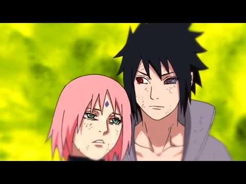 Sasuke and Sakura- Broken Clocks (AMV) Sza