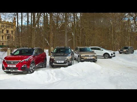 Subaru  Forester Паркетник класса J - тест-драйв 3