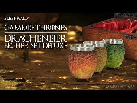 Game of Thrones: Drachenei Becher Set Deluxe