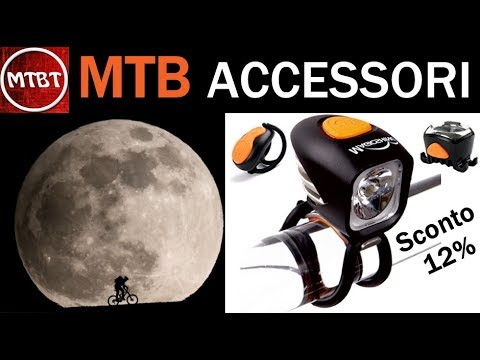 MTB accessori Luce notturna Magicshine MJ 902 12% sconto - bike light combo mountain biking tube
