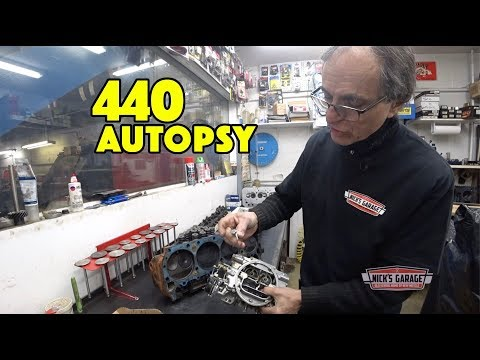 Dodge Coronet 440 Autopsy - Nick's Shop Full of Fords
