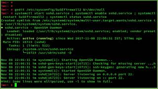 How To Configure SSH OpenSSH Server SSHD on openSUSE Leap 42.2