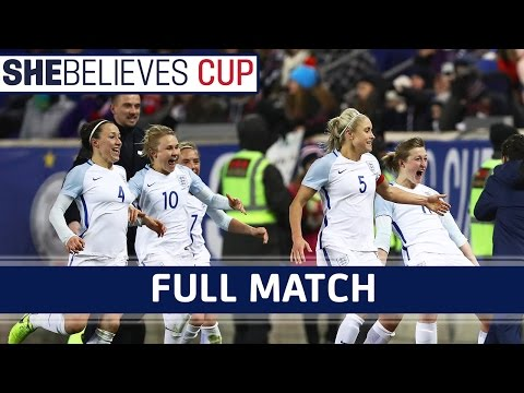 USA Women 0-1 England Women - 2017 SheBelieves Cup | Full Match