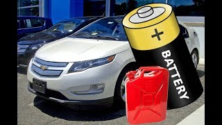 Заряжается ли батарея Chevrolet Volt при езде на бензине?