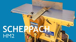 Trying out the 1982 Scheppach HM2 jointer, planer, tablesaw & lathe