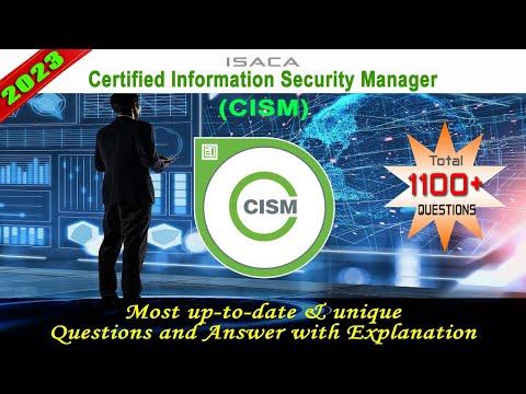 ISACA-CISM - Exam Preparation - YouTube