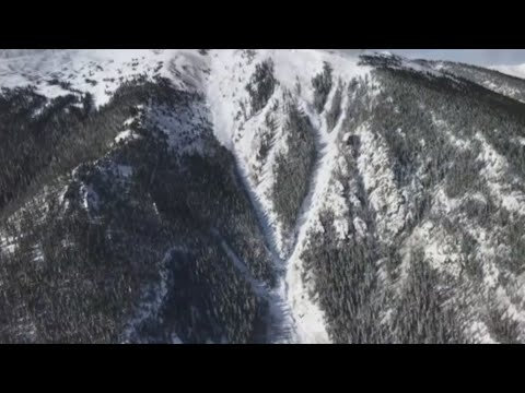 Explosives triggered avalanches in Colorado