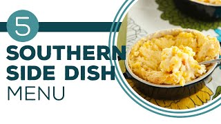 Get Your Side Dishes On - Southern Side Dish Buffet - Paulas Home Cooking