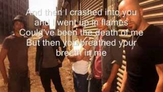 Chris Daughtry - Crashed with flash lyrics!