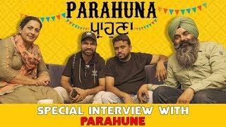 PARAHUNA | Interview With Starcast | Karamjit Anmol | Harby Sangha | Malkit rauni | Rupinder Rupi