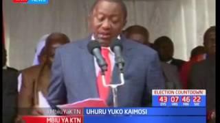 Uhuru yuko Kaimosi : Rais Kenyatta pia yuko Magharibi