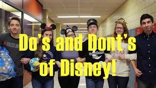 Disney Do's and Don'ts 2016