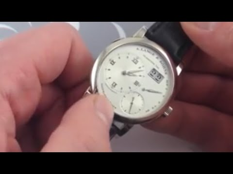 A. Lange & Söhne Lange 1 Luxury Watch Review