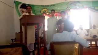 preview picture of video 'Cermony of English language course in Govt. Higher secondary school Danda shah bilawal'