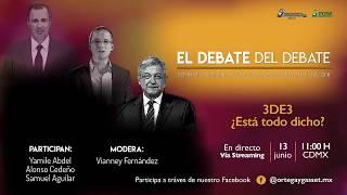 Debate del debate.