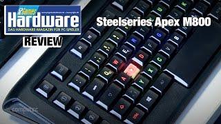 Steelseries Apex M800 Review / Test  Steelseries' Mechanik-Flaggschiff mit RGB-Beleuchtung im Test