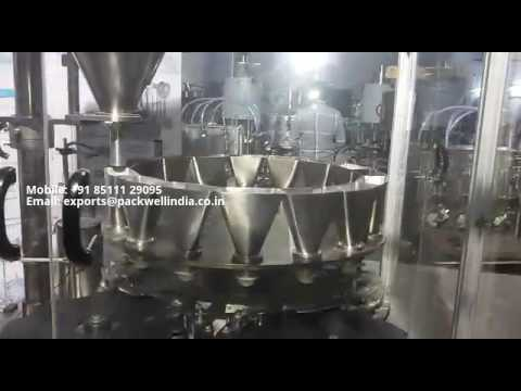 Automatic Rotary Powder Filling Machine for Dry Syrup