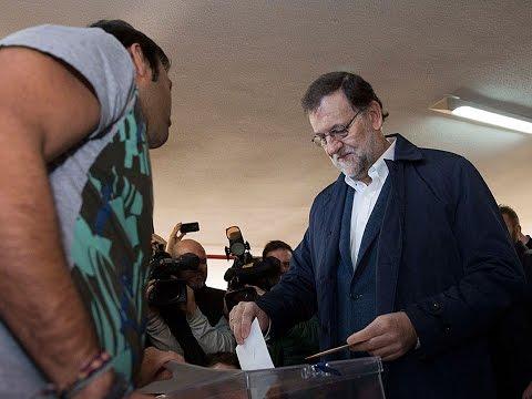 Declaraciones de Mariano Rajoy Brey después de votar #20D