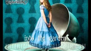 [Alice in Wonderland] into the garden