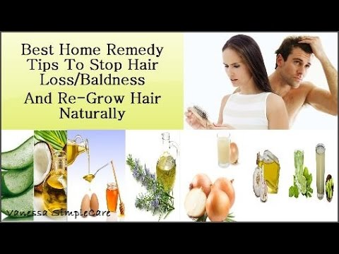 How To Stop Hair Loss Baldness And Regrow Hair Naturally