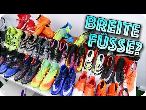 WHICH FOOTBALL BOOT FOR WIDE FEET? - Welcher Schuh für breite Füße?