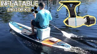 Motorized Paddle Board (iSUP) - Fin Motor Mount