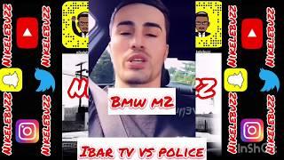 IBRA TV conduit la BMW M2 sur PARIS et CARTONNE la VOITURE pour sa VIDÉO la POLICE L'ARRÊTE