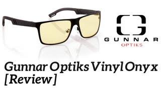 Gunnar Optiks Vinyl Onyx Crystalline Review!