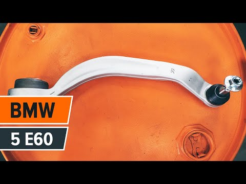Wie BMW 5 E60 Querlenker hinten wechseln TUTORIAL   AUTODOC