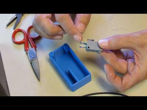 Tema 3 -Fabricación de pulsadores. Pulsador con carcasa de impresión 3D