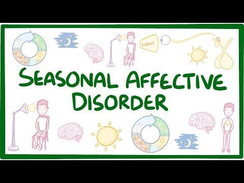 Seasonal affective disorder - causes, symptoms, diagnosis, treatment, pathology