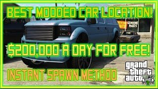 GTA 5 Online BEST CAR TO SELL! $200,000 A DAY! Sandking XL Modded Car Spawn NEW Method